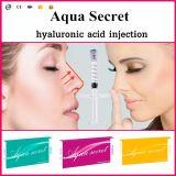 Llenador cutáneo del ácido hialurónico del cuidado de piel