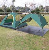 3-4 tente de personne, tente campante de l'espace ultra-large rotatoire d'extrusion