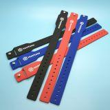 Wristband introduzido Minitag do silicone da solução do banco WS28 com sulco