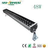 48W Arruela de parede LED de luz para iluminação de arquitetura