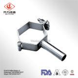 supporto personalizzato sanitario del tubo di prezzi competitivi di disegno dell'acciaio inossidabile 3A con il tubo per la riparazione