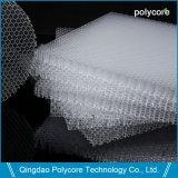 Прозрачная PC Honeycomb Core в здание из стекла для экономии энергии