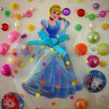 La princesse adhésif coloré décoratif DIY Pearl autocollant pour les filles