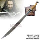 プラク99cm HK8223が付いているHobbit Thorinの剣のOrcristの剣