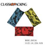 Nouveau design original des lunettes de soleil Lunettes de motif de camouflage PU Étui souple pour la promotion de sac à main avec les loisirs et sport style
