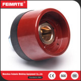 Kleur van de van certificatie Ce Contactdozen van het Lassen de Euro van de Stijl 200A Rode