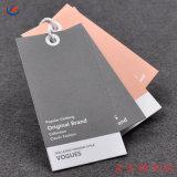La calidad de prendas de vestir de etiqueta de papel personalizados colgar la etiqueta de giro