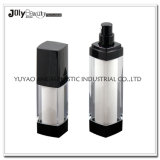 50ml Silver Cosmetic Airless Pump Bottle for Skin Care Packaging