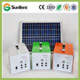 Sistema di illuminazione domestico solare solare superiore di qualità del caricabatteria