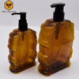 Eindeutige geformte Plastikflaschen-kosmetische Flasche mit Pumpe (BT-AI-300)