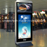 55pouces LCD permanent libre supermarché écran numérique de la publicité des médias vidéo LED