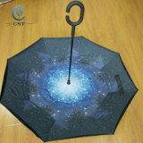 Responder 25 Pulgadas de agua, muestran la flor de la lluvia paraguas invertido el doble