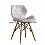 EMS blanco sillón estilo de las patas de madera natural Silla de Comedor Silla de madera de los asientos de sillas de armas de la pierna de la Pierna de alambre