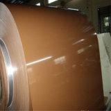 색깔에 의하여 입히는 직류 전기를 통한 강철판 물결 모양 알루미늄 루핑 장
