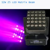 LED 25X12W Matrix перемещение светового пучка Колошения лампа