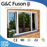 10 anni della garanzia del Brown di colore di finestra di alluminio di vetro del doppio