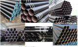 Tubo de acero inconsútil de carbón de ASTM A106/A53 Grb/API 5L Grb, tubo de acero