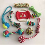 Juguete del Chew del perro de 2017 del animal doméstico del algodón juguetes de la cuerda