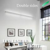 de Dubbele Partijen die van de Grootte van 28*80mm LEIDEN Lineair Licht Muur Opgezet Type aansteken