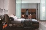 현대 가정 침대 룸 가구 나무 가구
