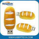 Drôle de PVC pain hamburger alimentaire USB USB Lecteur Flash USB