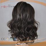 Perruque humaine élégante de femmes de lacet de cheveu de Vierge (PPG-l-0304)