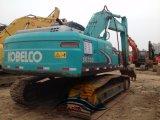 Máquina escavadora usada de Kobelco Sk200-8 da máquina escavadora da esteira rolante de Kobelco 20t