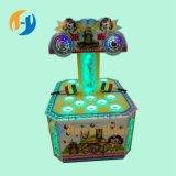 Двойное люкс оборудование занятности для детей играя машину игры хомяка