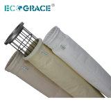 Filtro de saco da fibra de vidro da planta PTFE do cimento (D292 x L 10Meter)