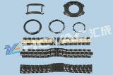 Oro del reloj/Rosegold/Brown/máquina de capa azul/negra del color del vacío PVD