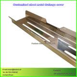CNC die het Stempelen de Delen van het Metaal van het Blad voor het Afvoerkanaal van de Vloer machinaal bewerken