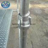 電流を通された鋼鉄Cuplockの足場システム設定の足場