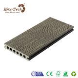 Decking compuesto plástico de madera impermeable
