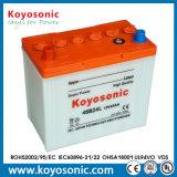 12V 45ah sèchent la batterie chargée d'automobile de batterie de voiture de remisage des batteries