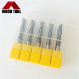 Z2 Hulpmiddelen van het Malen van het Eind van de Fluiten van het Carbide HRC60 de Lange Scherpe