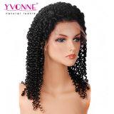 Peluca brasileña rizada rizada de mirada natural del cordón del pelo de la densidad del 250%
