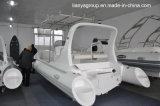 Liya 6.6m Boot van de Vissersboot van Hypalon van de Boot van de Rib de Stijve Opblaasbare