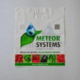 Dongguan stempelschnitt Locher-Griff Zoll gedruckte Soem-KleinplastikEinkaufstasche