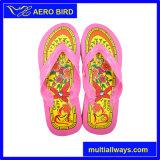 Прочного ПВХ обувь с большой Цветочный дизайн