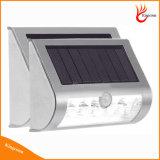 벽 정원 거리와 가족 야드 램프를 위한 운동 측정기 태양 LED 옥외 빛