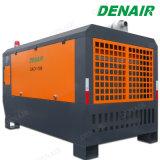 Compresor de aire rotatorio de motor diesel montado acoplado del tornillo de la barra de 400 Cfm 7-13