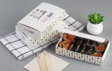 Rectángulo de papel desechables sacar alimentos Caja contenedor/máquina formadora
