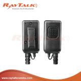 Auriculares táticos da condução de osso para Motorola 2 rádios Cp040/Cp100/Cp140 do Pin