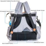 より暖かいポケットが付いている真新しい母ハンドバッグのトートバックのおむつPackpack