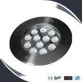 Luz subterráneo del LED, luz del suelo del jardín del LED