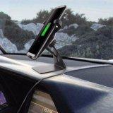 Новейший многофункциональный ци зарядное устройство беспроводной связи приемника Car Магнитная подставка для мобильного телефона зарядное устройство