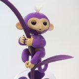 Игрушка любимчика перста электронная меньшяя обезьяна младенца Fingerling вау пи-пи