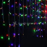 結婚式の装飾IP44可変性LEDのつららライトセリウムRoHS