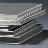 La feuille composée en aluminium de panneau de revêtement de mur avec la couleur de Pantone a reçu