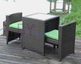 Mode moderne pliant les meubles extérieurs 697 de rotin de PE de loisirs d'hôtel de jardin